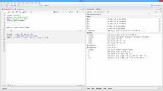 So Erstellen Sie eine Daten-Frame in R. [HD]