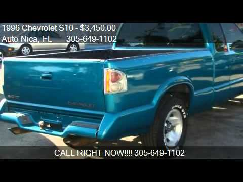 1996 chevrolet s10 ls ext cab short bed 2wd for sale in m youtube. Black Bedroom Furniture Sets. Home Design Ideas