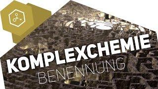 Komplexchemie - Die Benennung