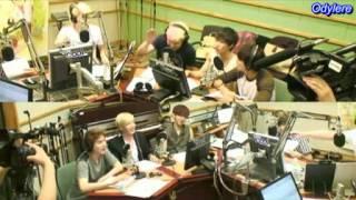 120720 Kiss The Radio Con Super Junior 5/10 sub español