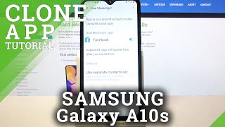 How to Clone Apps in SAMSUNG Galaxy A10s – Multiple App Account screenshot 3