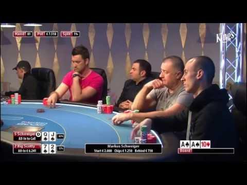 CASH KINGS E11 2/2 - DE - NLH 2/5 ante 5 - Live cash game poker show