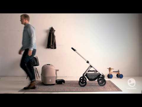 Easywalker Комбинирана детска количка Harvey 2 в 1 Coal Black #aiwfVNJ4xjU