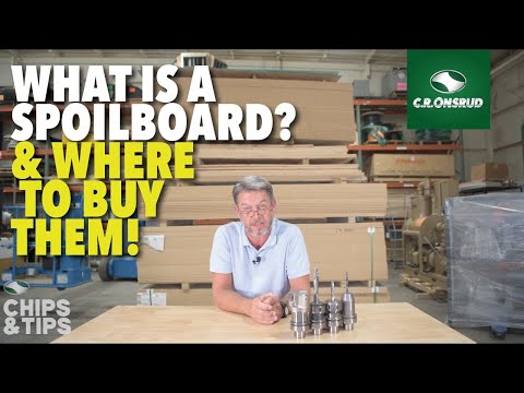 Chips & Tips Episode 5: What is a CNC Router Spoil-board? & Where to buy them