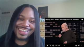 """Baby Dyce Reacts to - George Carlin """"Extreme Human Behavior"""""""
