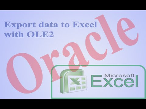 Image result for Move Oracle data into Microsoft Excel
