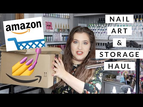 💅AMAZON NAIL ART/STORAGE HAUL | ISABELMAYNAILS