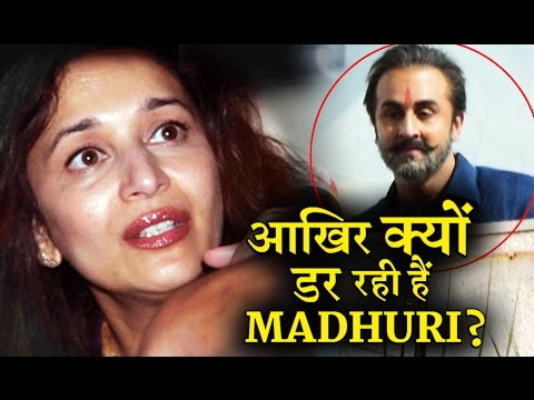 Why Madhuri Scared Of Sanjay Dutt's Biopic ?