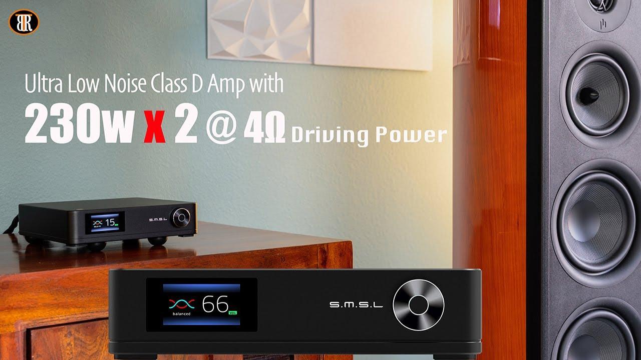 SMSL SA400 Class D Amplifier Review, Work Like Class A