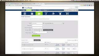How To Setup A Bluehost Email and Change the Password