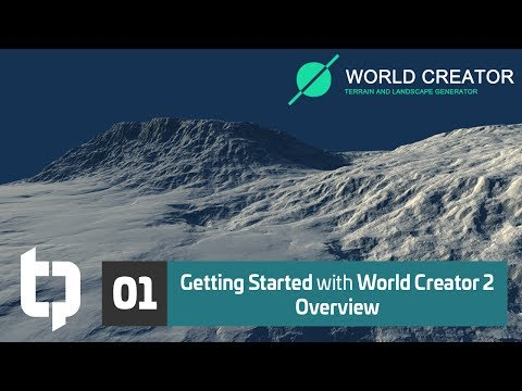 World Creator - Tutorials to get started quickly