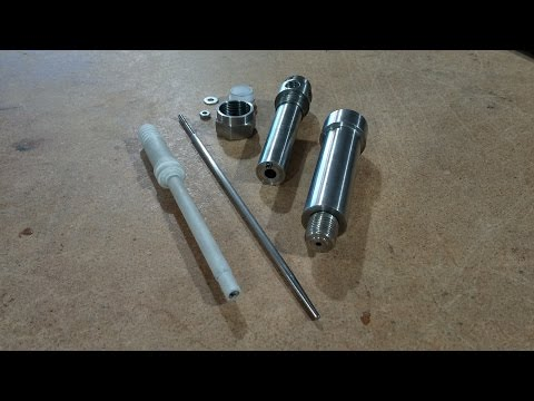 Completed Stan Meyer Injector. RWGresearch.com