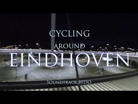 CYCLING AROUND EINDHOVEN-(Travel vlog)