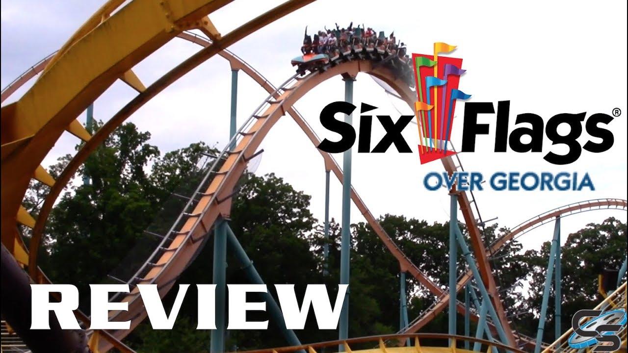 Six Flags Over Georgia Review Austell, Georgia