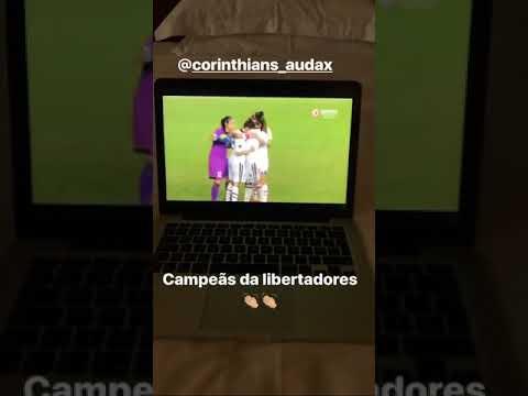 Melhor da história, Marta comemora conquista corinthiana da Libertadores