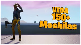 SHOWING SKIN VEGA & 150+ MOCHILAS FORTNITE