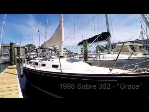 "1998 Sabre 362 ""Grace"" - Annapolis Yacht Sales - SOLD"