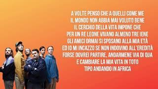 I Pinguini Tattici Nucleari - Ringo Starr (Testo / Lyrics) Sanremo 2020