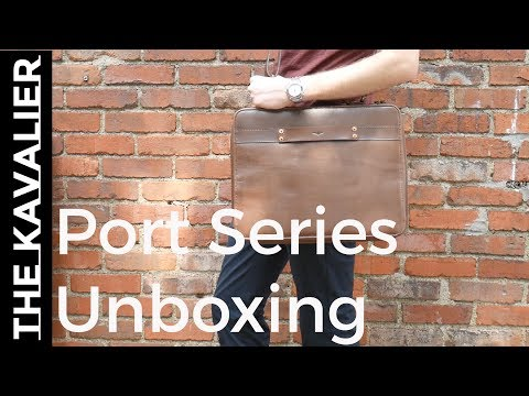 Exclusive First Look: Satchel and Page Port Series Kickstarter | High Quality Leather Goods