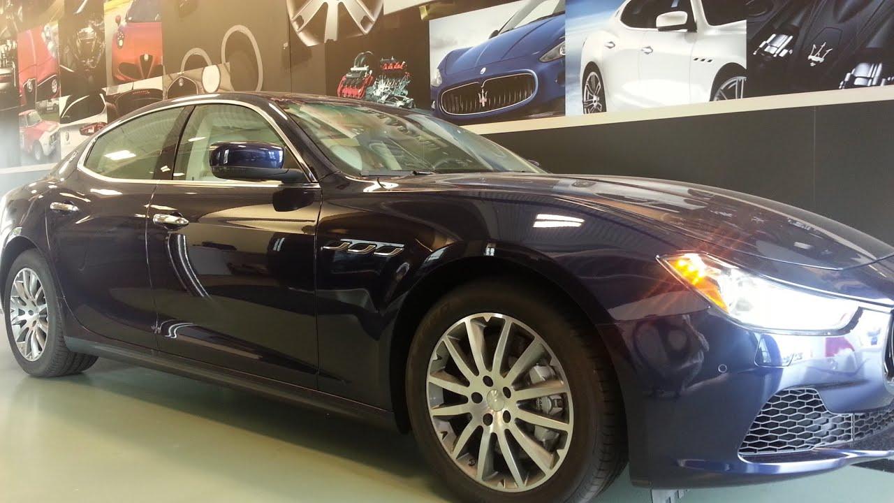 Maserati Ghibli S Q4 >> 2014 Maserati Ghibli S Q4 - Blu Passione/Sabbia - Interior ...
