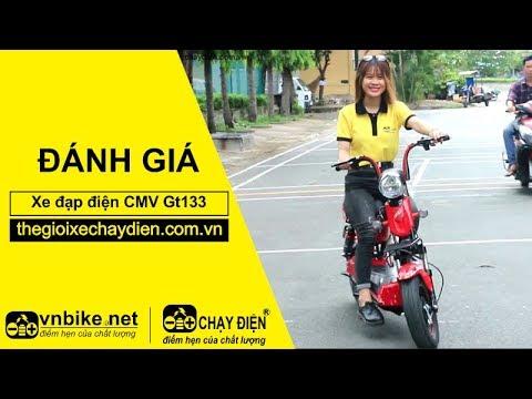 Đánh giá xe đạp điện CMV GT133