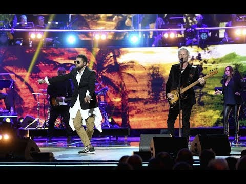 Shaggy & Sting Performing at Queen Elizabeth 92nd Birthday Celebration In London