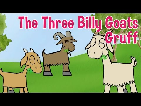 The Three Billy Goats Gruff - Animated Fairy Tales for Children
