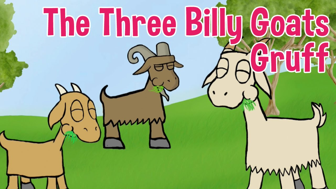 Art For Kids Teppiche The Three Billy Goats Gruff Animated Fairy Tales For Children