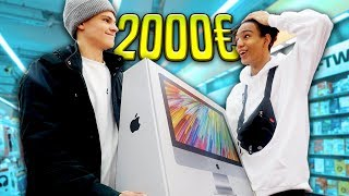 ICH schenke AJ einen 2000€ iMac! 💶🔥 (Überraschung)