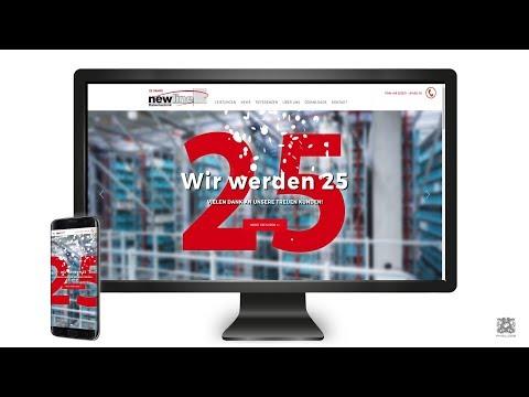 Webseite im responisve Webdesign für das Softwarehaus Newline Datentechnik GmbH aus Dortmund