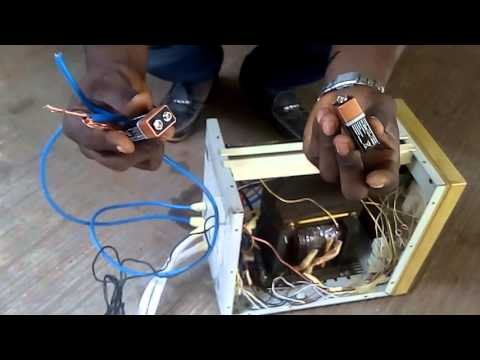 how to make inverter at home pdf