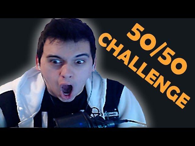 Reddit's 50/50 CHALLENGE - ПЪЛЕН УЖАС!