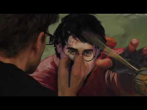 Lessons learned from painting Harry Potter