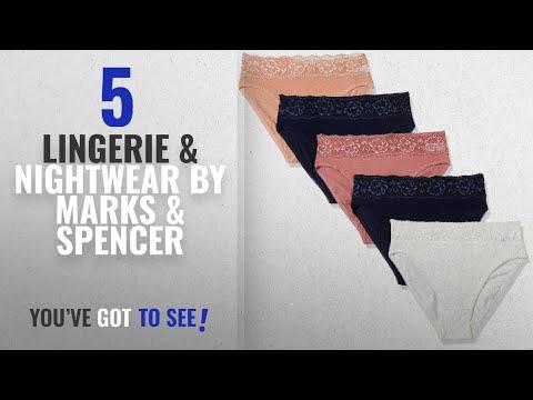 Top 10 Marks & Spencer Lingerie & Nightwear [2018]: Marks & Spencer Women's Cotton Bikini Knickers