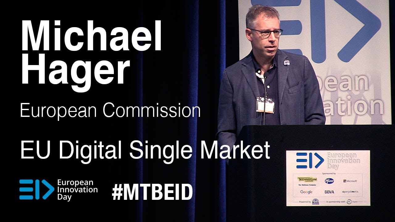 EID 2015 | EU Digital Single Market - Michael Hager - YouTube