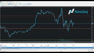 Live Trading sur le NASDAQ durant l'Ouverture des Marchés US