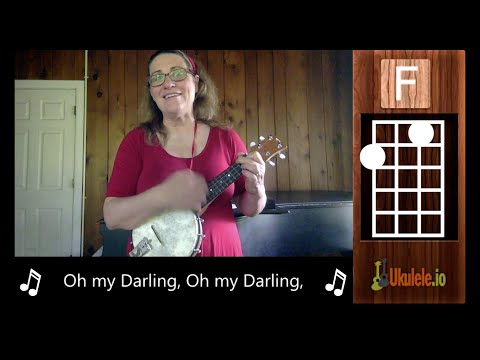 Clementine Ukulele Lesson Tutorial  - 21 Songs in 6 Days: Learn Ukulele the Easy Way