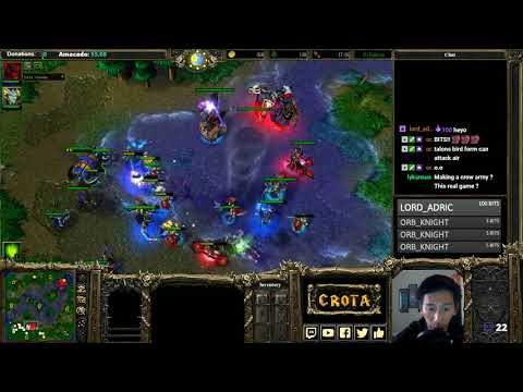 Foggy (NE) vs tbc_bm (UD) - Highly Recommended - WarCraft 3
