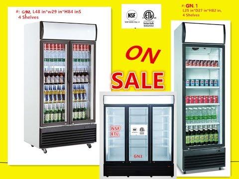 nsf-refrigerator-glass-door-beer-flower-cooler-refrigerators-restaurant-equipment