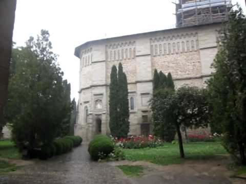 Rain at the Church of the Descent of the Holy Spirit Dragomirna Monastery