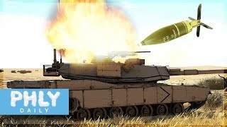 Actively trying to extinct the M1 Abrams with High Explosive Fin Stabilized