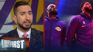 'Lakers ceiling is to be the best team in basketball' — Nick Wright | NBA | FIRST THINGS FIRST