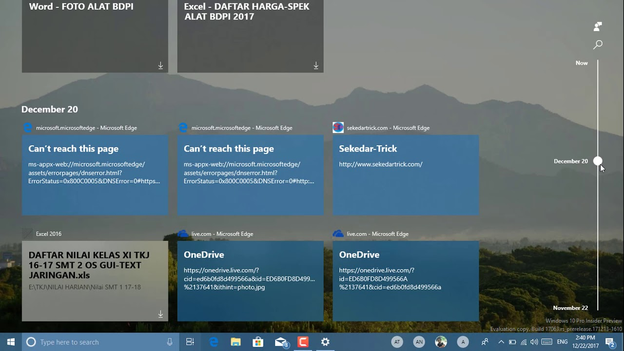 Cách Bật Và Tắt Tính Năng Dòng Thời Gian Trên Windows 10 - VERA STAR