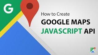 How to Create Google Maps JavaScript API Key - (Step by Step) Free HD Video