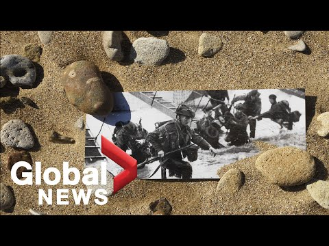 Canadian D-Day 75 Ceremony Held On Juno Beach | FULL