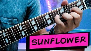 SUNFLOWER - Post Malone, Swae Lee - Fingerstyle Guitar Cover | Spider Man: Into The Spider-Verse