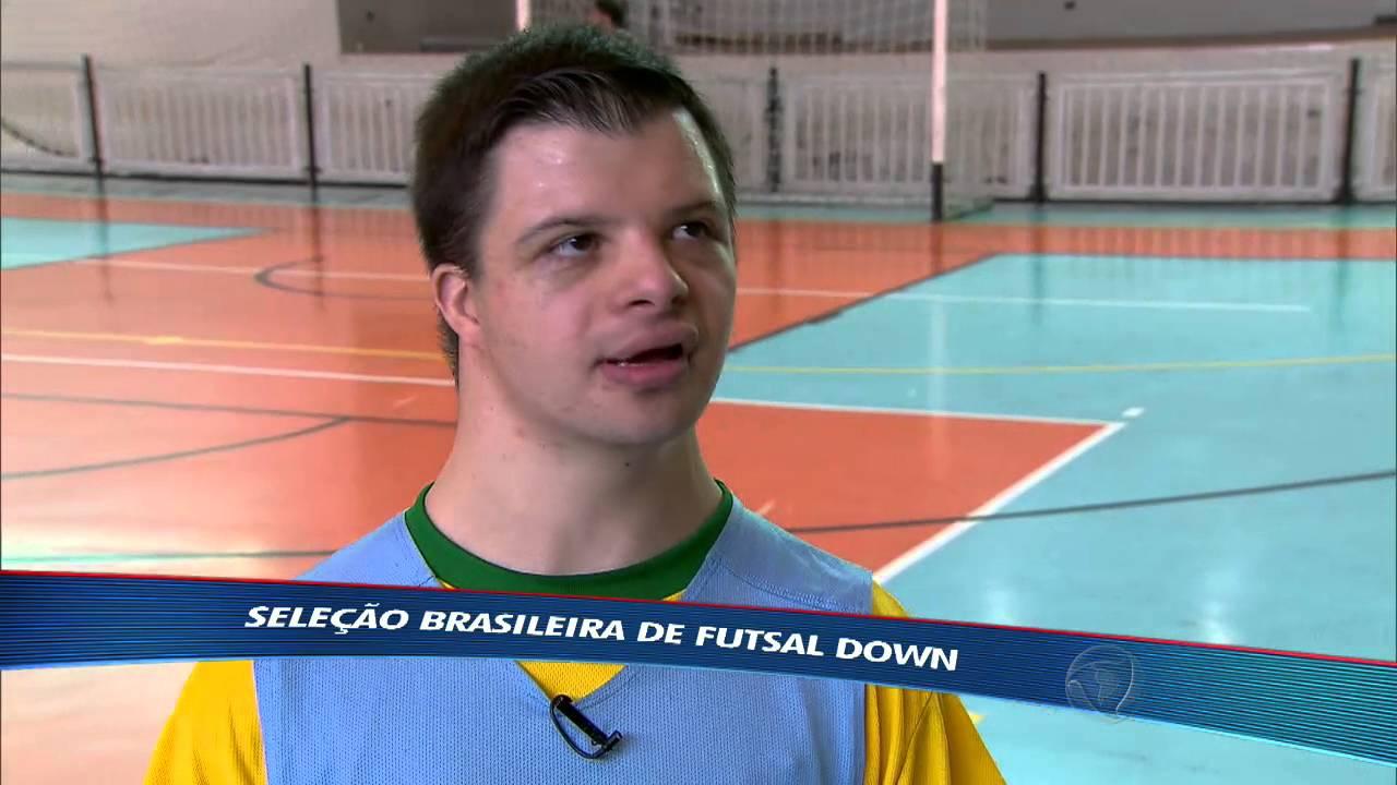Seleção brasileira de fustal down: o esporte é para todos!