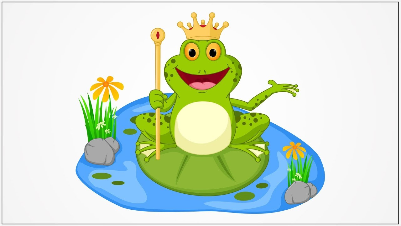 how to draw prince frog step by step for kids - YouTube