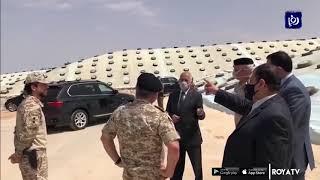 الملك يطمئن على المخزون الاستراتيجي لصوامع الحبوب في الغباوي 23/3/2020