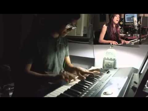 Me Playing Titanium With Christina Grimmie Youtube